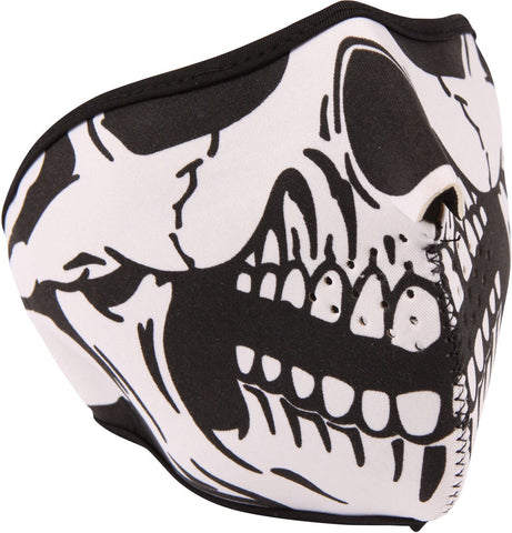 Gear Gremlin Motorcycle Neoprene Face Mask: Skull