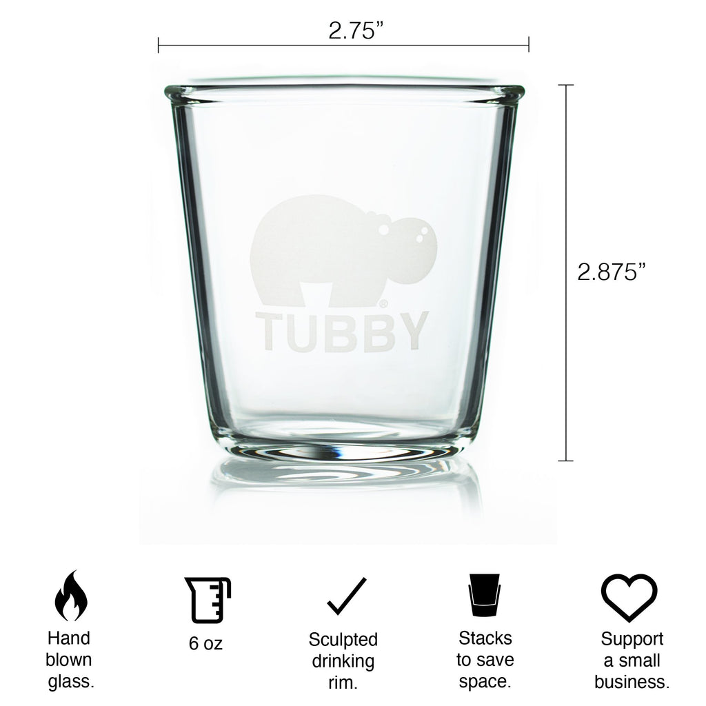 Tubby Flight Glasses - 2 Pack