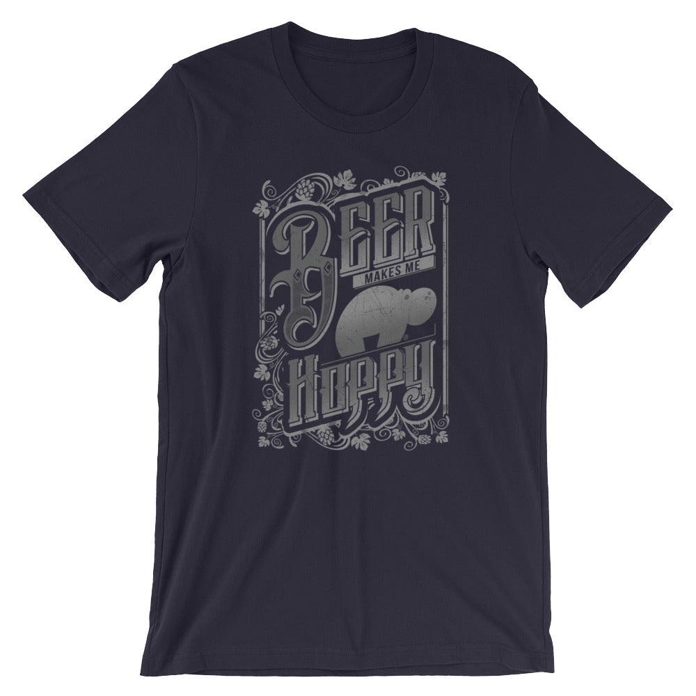 Hoppy Tubby - Short-Sleeve Unisex T-Shirt