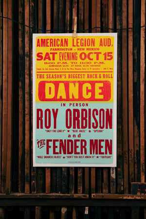 Load image into Gallery viewer, Roy Orbison Poster