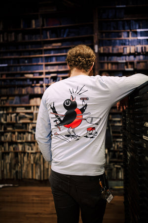 Load image into Gallery viewer, Hatch Long Sleeve Bird T-Shirt