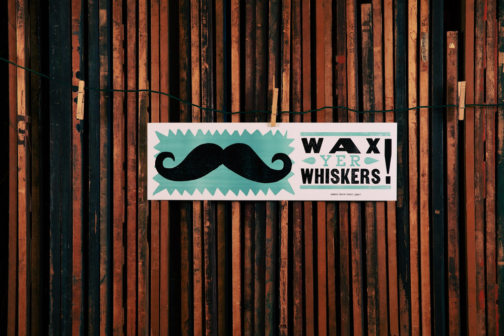 Load image into Gallery viewer, Wax Yer Whiskers Poster