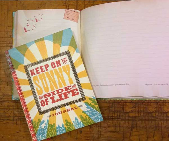 KEEP ON THE SUNNY SIDE JOURNAL