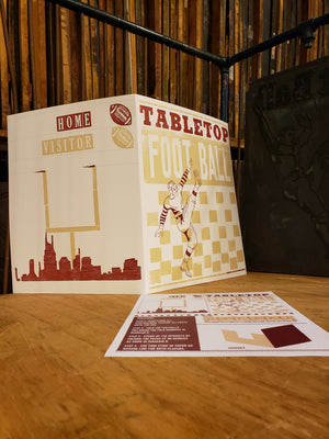 Paper Tabletop Football Game