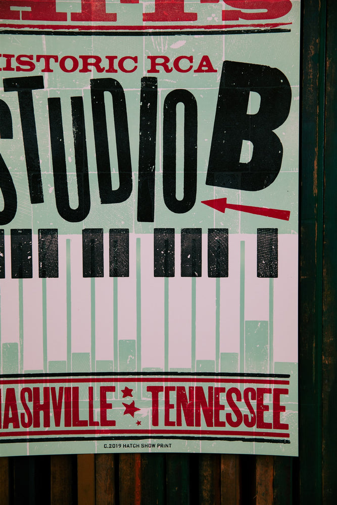 Load image into Gallery viewer, Historic RCA Studio B Poster