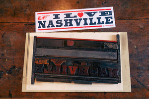 Load image into Gallery viewer, I Love Nashville Poster