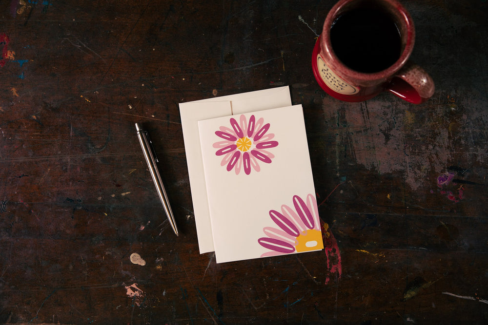 Load image into Gallery viewer, Daisy Card