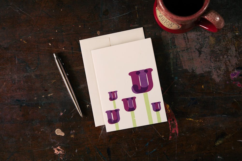 Load image into Gallery viewer, Tulips Card