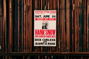 Load image into Gallery viewer, Hank Snow Poster