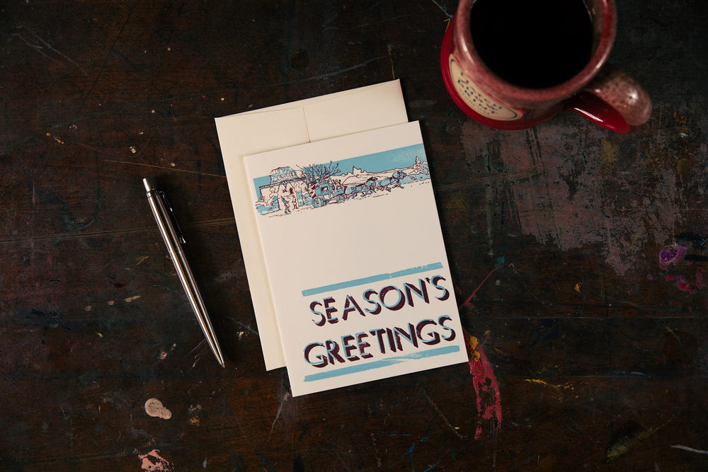 Load image into Gallery viewer, Season's Greetings Card