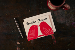 Together Forever Birds Card