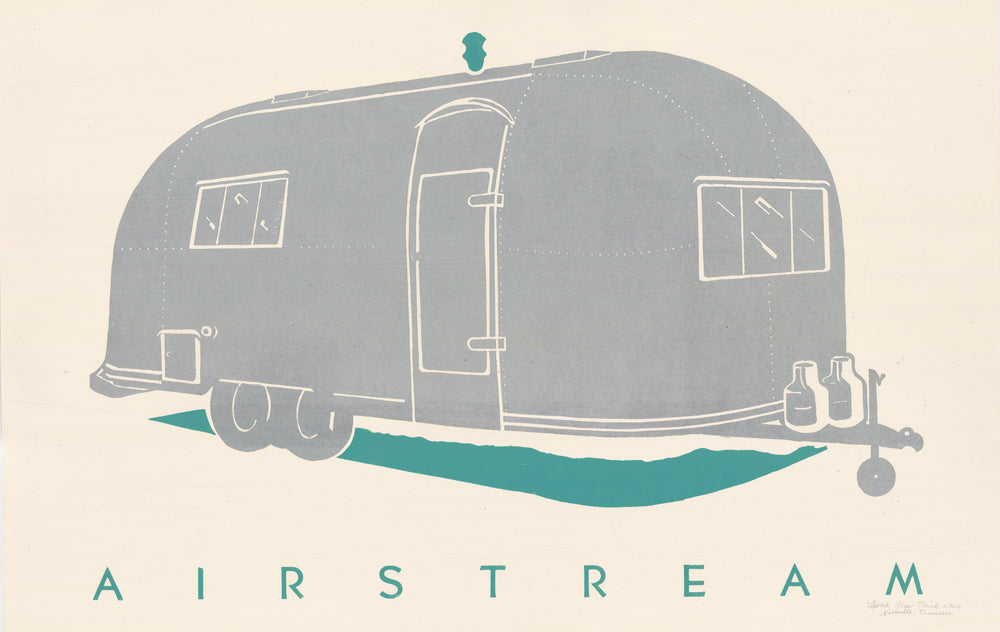 Load image into Gallery viewer, Airstream Print