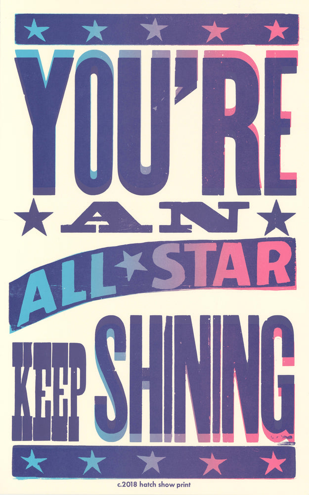 You're an All-Star Poster