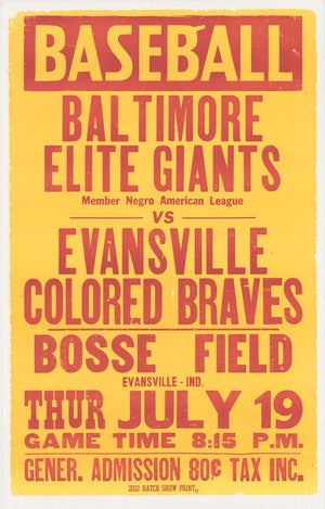 Load image into Gallery viewer, Baltimore vs. Evansville Poster