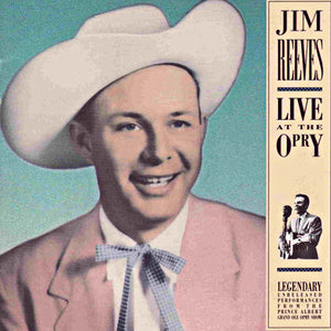 Jim Reeves Live at the Opry CD