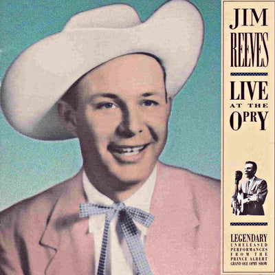 JIM REEVES LIVE AT THE OPRY
