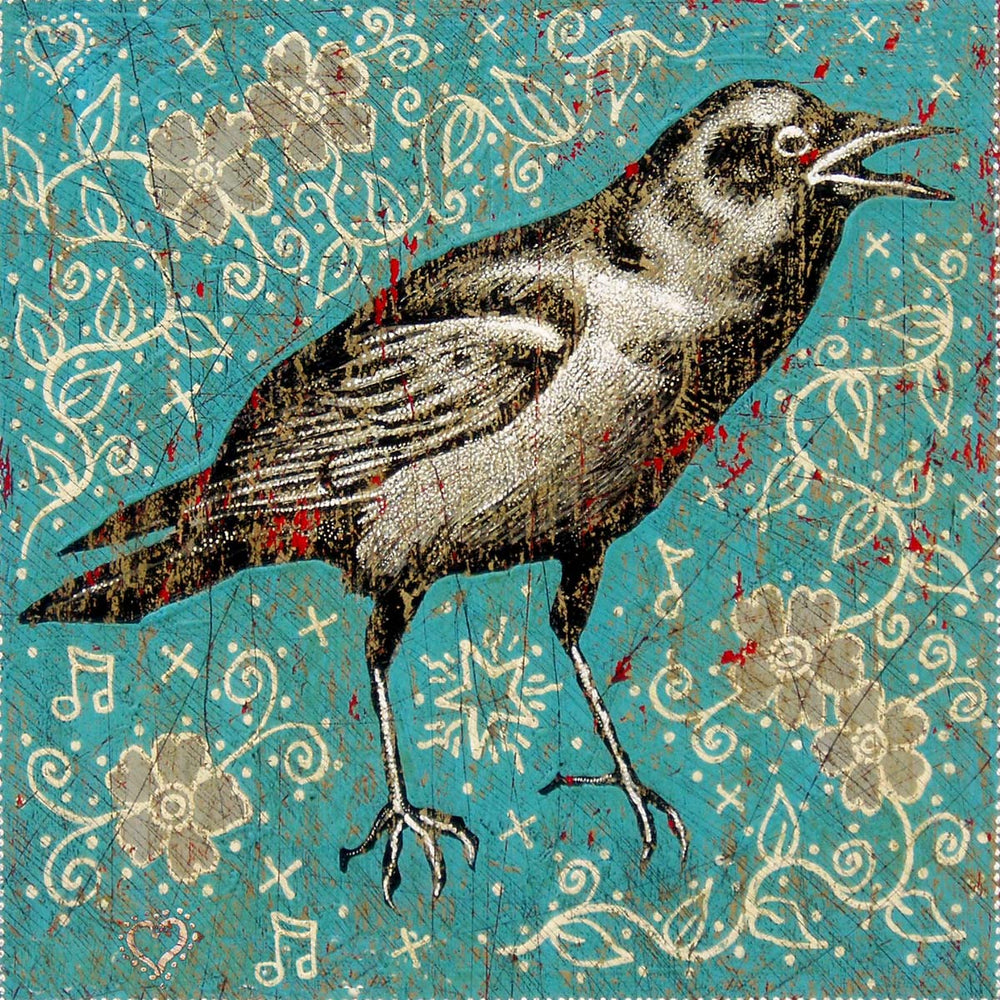 Load image into Gallery viewer, Jon Langford - Crow Print