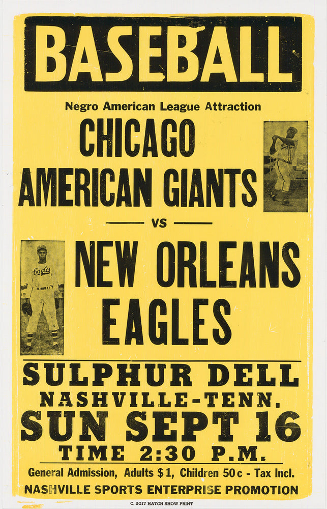 Chicago vs. New Orleans Poster