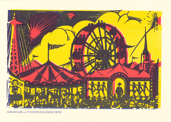 Ferris Wheel Window Card