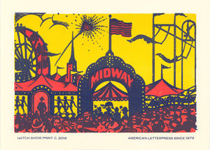 Midway Window Card Poster