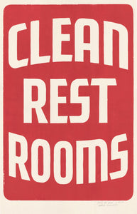 Clean Restrooms Re-Strike