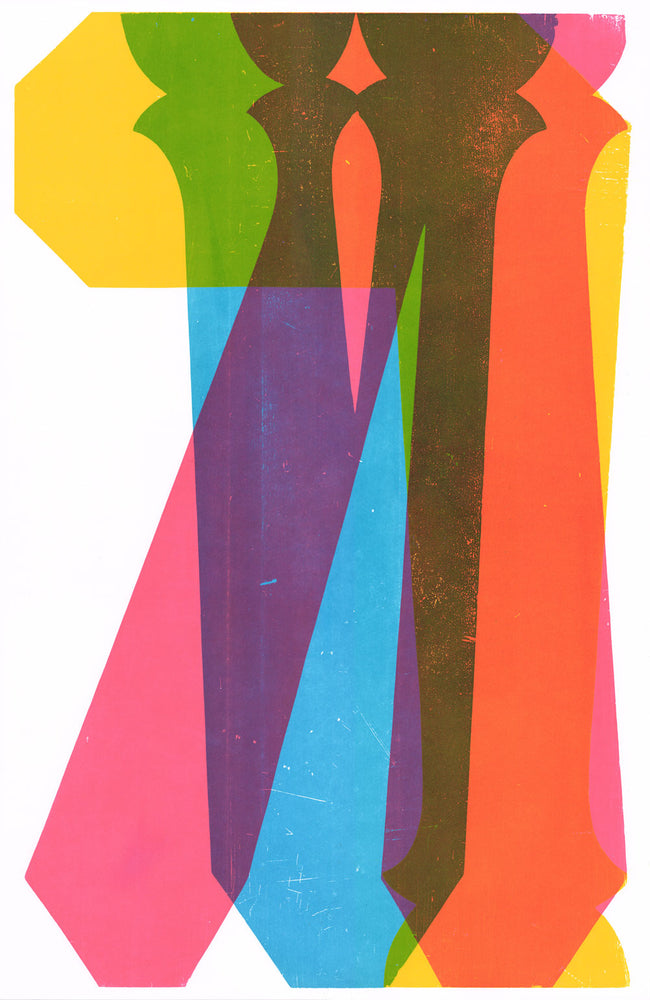 Load image into Gallery viewer, David Wolske: Synaesthetica No.4 Print