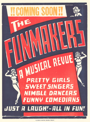 Load image into Gallery viewer, Funmakers Poster