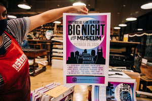 BIG NIGHT (At the Museum) Hatch Show Print Poster