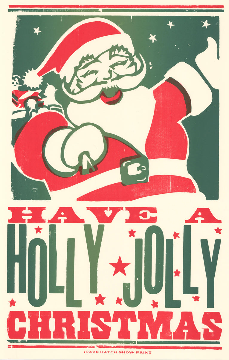 Christmas Images To Print.Holly Jolly Christmas Poster