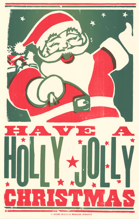 Holly Jolly Christmas.Holly Jolly Christmas Poster