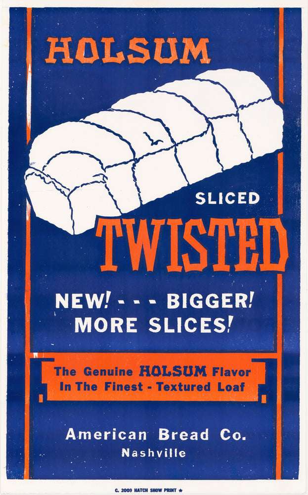 Holsum Bread Poster