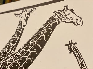 Load image into Gallery viewer, Giraffe Print