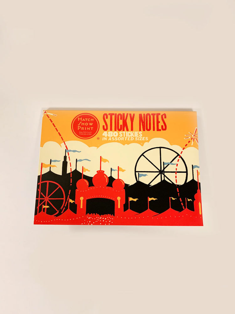 Hatch Show Print Sticky Notes