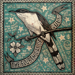 Jon Langford - July 4th Cuckoo Print