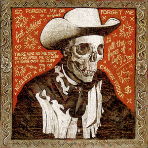 Jon Langford - Lofty Deeds Over The Cliff Print