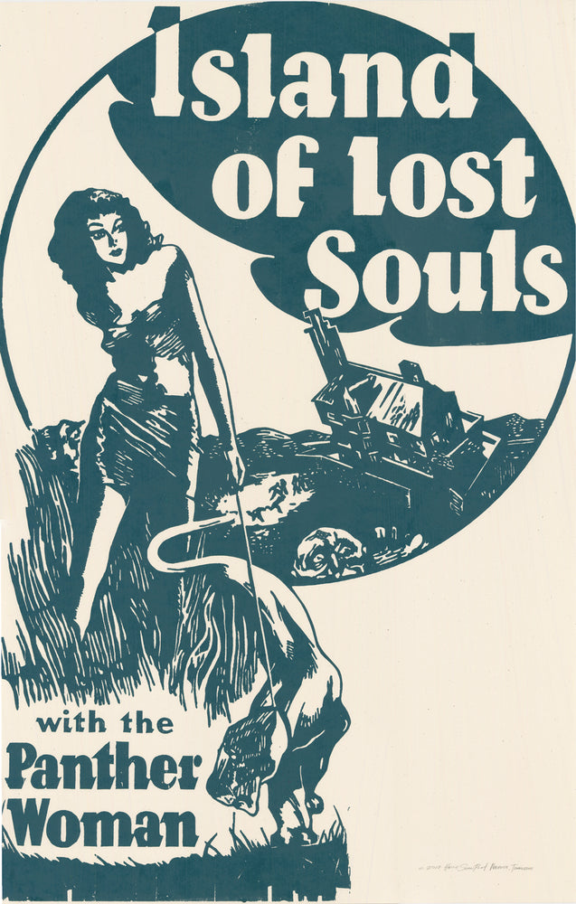Load image into Gallery viewer, Island of Lost Souls Print