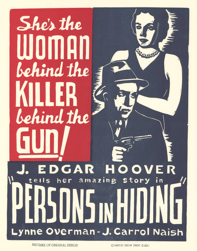 Load image into Gallery viewer, Persons in Hiding Poster