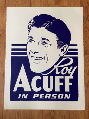 Load image into Gallery viewer, Vertical Roy Acuff in Person Print