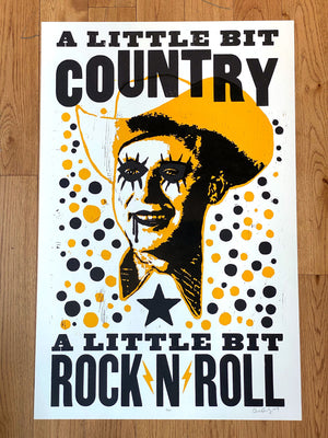 Carlos Hernandez - A Little Bit Country, A Little Bit Rock 'n Roll Print
