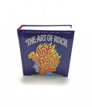 The Art of Rock Mini Hardcover Book