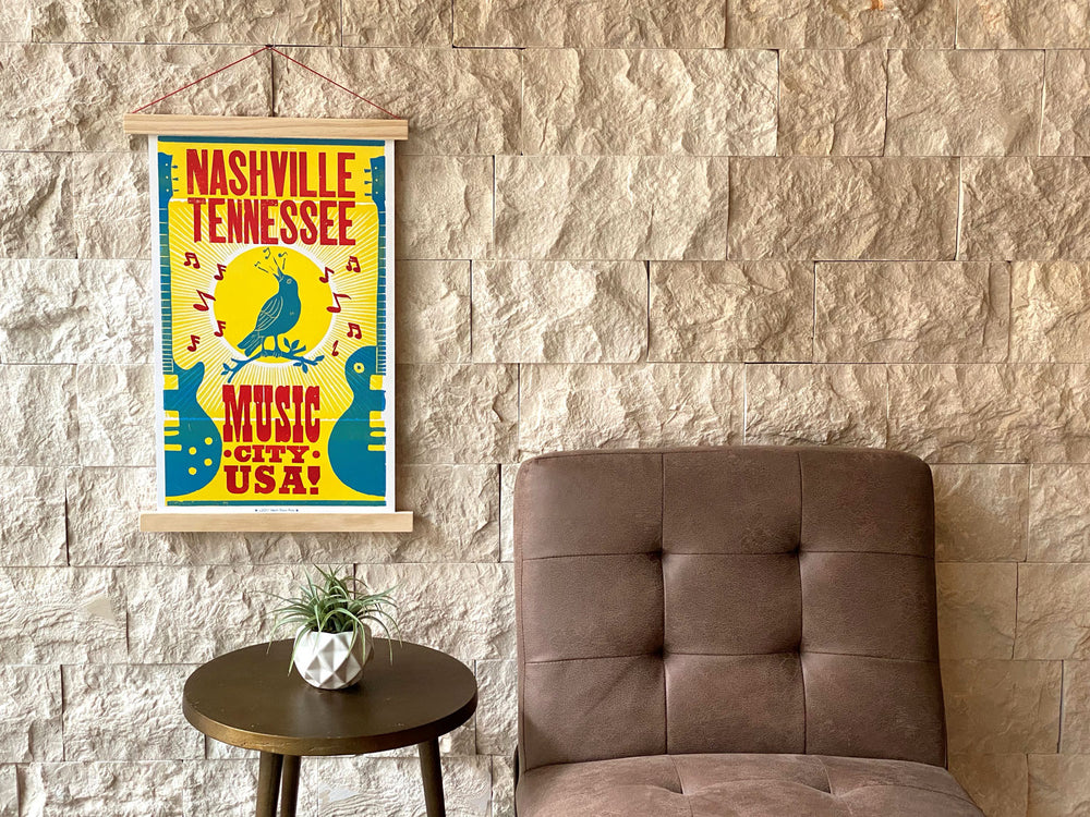 Bluebird Music City Poster
