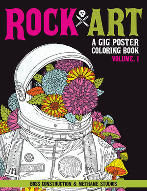 Rock Art Coloring Book Vol. 1