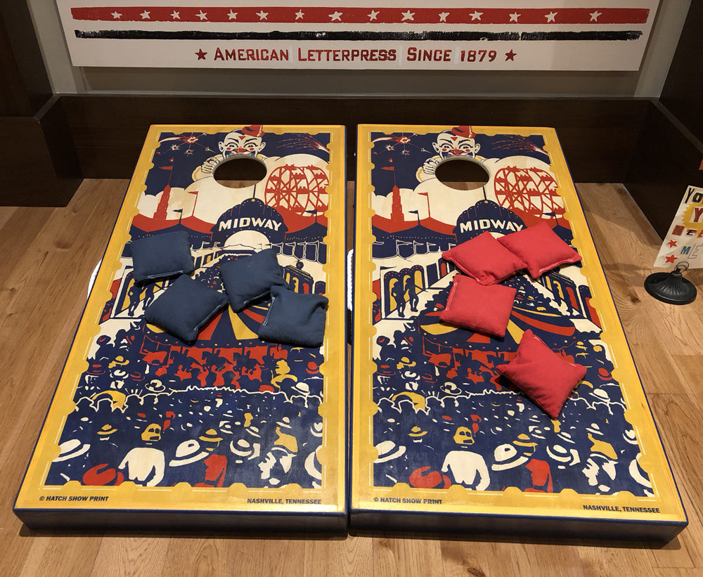 Hatch Circus Cornhole Set
