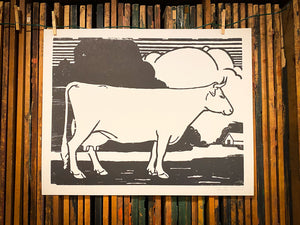 Load image into Gallery viewer, Barnyard Cow Print