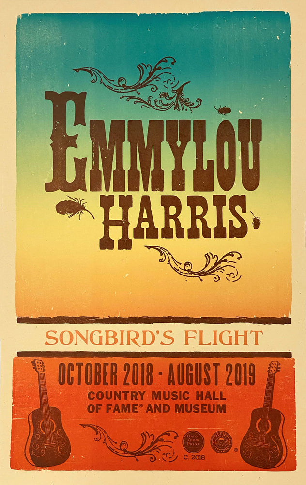 Emmylou Harris Exhibit Poster