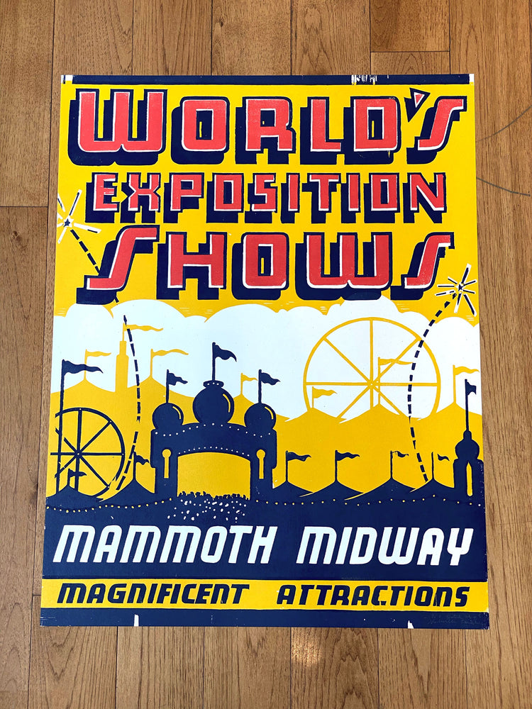 World's Exposition Shows Print