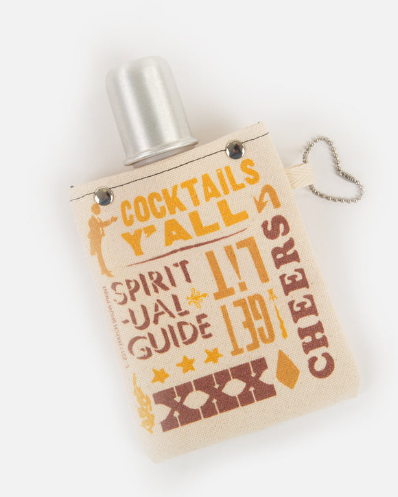 4 OZ Canvas Flask