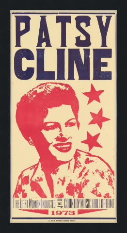 Load image into Gallery viewer, Framed Patsy Cline Poster