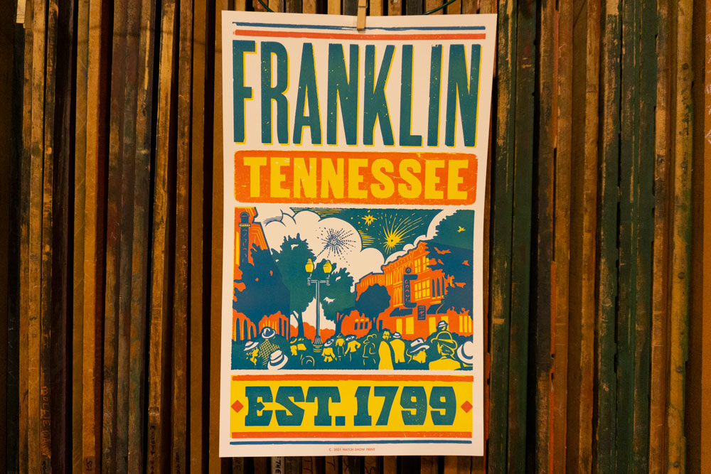 Franklin Tennessee Poster