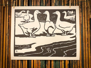 Load image into Gallery viewer, Geese Print